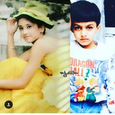 How cute they looked in their childhood! Cute Couples Photos, Couples In Love, Couple Photos, Kartik And Naira, Indian Wedding Wear, Kaira Yrkkh, Smart Boy, Mohsin Khan, Cutest Couple Ever