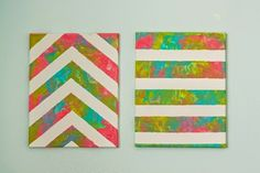Easy Toddler Paint Project