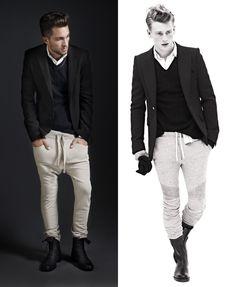 What's he wearing?: Zara Man v Balmain Homme Fall Winter 2010