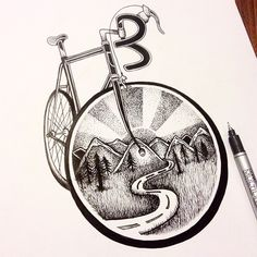 Trendy dirt bike tattoo i want 45 ideas Dirt Bike Tattoo, Bicycle Tattoo, Bike Tattoos, Bicycle Art, Cycling Tattoo, Cycling Art, Indoor Cycling, Road Cycling, Cycling Tips