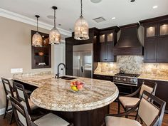 7 Best Round Kitchen Island Ideas Kitchen Remodel New Kitchen Kitchen Design