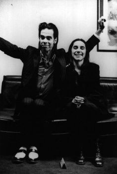 Nick Cave and Polly Jean