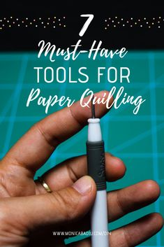 Beginner's Guide into Quilling: Choosing Paper, Tools, Glue and more — Monica Badiu - Marketing, Mindset & DIY Quilling Dolls, Quilling Comb, Paper Quilling Flowers, Quilled Paper Art, Quilling Jewelry, Quilling Paper Craft, 3d Paper, Paper Crafts, Quilling Supplies