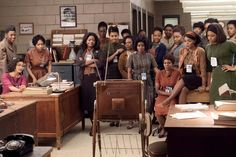 """Taraji P. Henson and Octavia Spencer star in """"Hidden Figures,"""" a largely untold story of African-American mathematicians in the space program."""