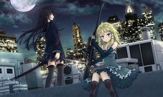 This HD wallpaper is about Black Bullet, anime girls, Kisara Tendo, Tina Sprout, Original wallpaper dimensions is file size is Black Bullet, Queens Wallpaper, Fanart, Blonde Hair Blue Eyes, Kawaii, Manga Drawing, Manga Art, Anime Art Girl, Anime Girls