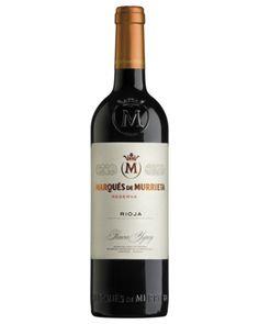 RG: Densely packed, very spanish. Ole. Marqués de Murrieta Reserva Tempranillo Blend
