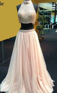 A-line/Princess Prom Dresses, Champagne Prom Dresses, Two Piece Prom Dresses, Long Champagne Prom Dresses With Beaded/Beading Floor-length High Neck Sale Online, Cheap Prom Dresses, Two Piece Dresses, Prom Dresses Cheap, Long Prom Dresses, Cheap Dresses Online, High Neck dresses, Cheap Long Prom Dresses, Cheap Long Dresses, Prom Dresses Online, High Neck Prom Dresses, Prom Dresses Long, Long Dresses Cheap, Cheap Prom Dresses Online, Prom dresses Sale, Champagne Long dresses, Long Champ...