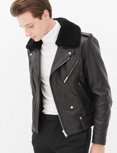 Classic Leather Outfit For Him