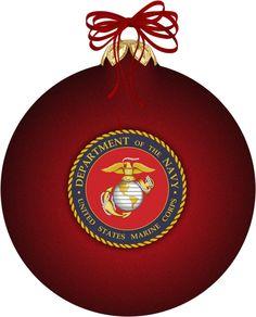 Marine Corps Christmas Ornaments | Christmas | Pinterest | Marine ...