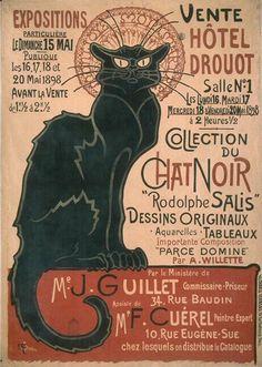 Steinlen, Le Chat Noir, 1896