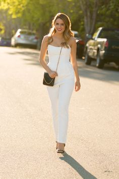 Keepsake Jumpsuit (also love this little white lace one), Stella McCartney Bag,
