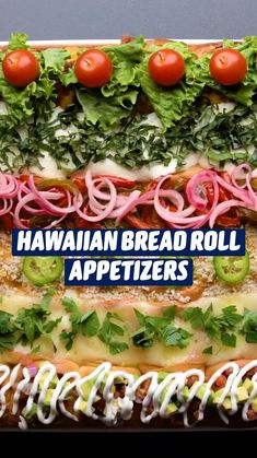 Finger Food Appetizers, Yummy Appetizers, Appetizers For Party, Appetizer Dips, Hawaiian Bread Rolls, Good Food, Yummy Food, Tasty, Appetisers