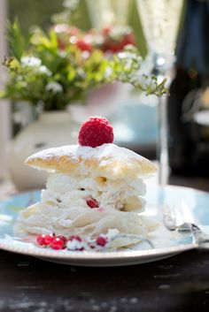 Dee I have made this light sweet pastry for you, and thought that you might like to enjoy it out in the garden with a cup of tea. Enjoy. xoxo