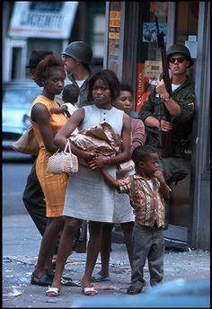 Bob Peterson Newark riots, 1967