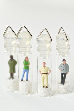 Mini Me Bottle Pendants: Quirky and Fun Wedding Favors