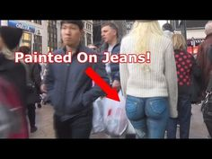 VIDEO: Model walks around NYC naked– with 'painted-on' jeans– and no one notices | KFOR.com