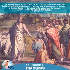 Lecturas-Viernes, VII semana de Pascua (06-06-2014): Hechos 25,13b-21 / Salmo 102,1-2.11-12.19-20ab / Juan 21,15-19
