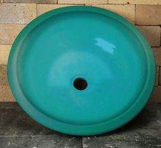 chatham pottery Drop-In Sink - Caribbean Blue