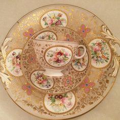 #roses#prettychina#pinks#handpainted#teacups#victorian#beautifulthings#
