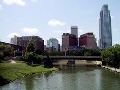 Omaha, Nebraska. A beautiful city!