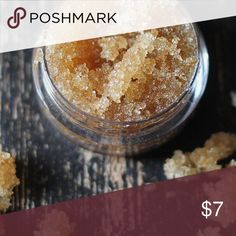 Vanilla sugar lip scrub Vanilla Sugar Lip Scrub made with coconut oil. All natural ingredients and tastes so yummy! Sorry no trades. Lush Makeup Lip Balm & Gloss
