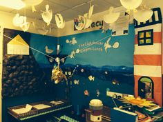 The lighthouse keepers lunch classroom display!
