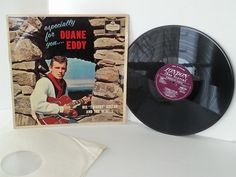 DUANE EDDY AND HIS TWANGY GUITAR AND THE REBELS especially for you, vinyl LP - SOUNTRACKS, COMEDY, POP, VARIOUS ARTISTS, MISC. #LP Heads, #BetterOnVinyl, #Vinyl LP's
