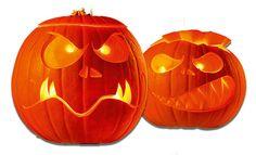 Kürbis: Halloween-Laterne schnitzen