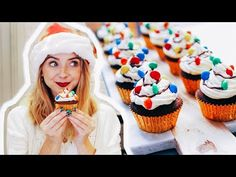 (2) Gingerbread Christmas Light Cupcakes | Zoella | AD - YouTube