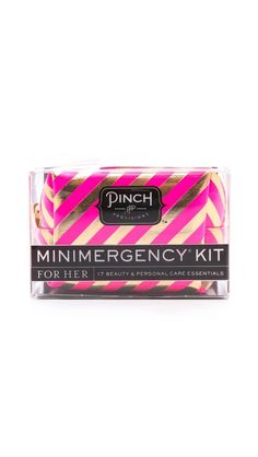 candy striper minimergency kit stocking stuffers for adultschristmas
