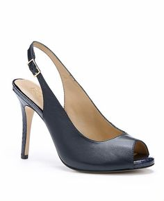promo code 3c6f8 7a3ef Willa Exotic Leather Slingback Heels