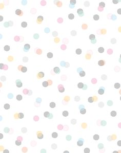 Lovely Dainty Dots Pattern