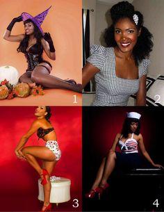 Foursquare photo compilation of models:  1: Lillian Raven  2: Angelique Noire  3: Ashleeta Beauchamp   4: Hollywood Harlot