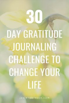 Take this simple 30-day gratitude journaling challenge to count your blessings and celebrate your life! 30 days of inspiring gratitude journal prompts to get you started on the path to happiness and harmony. #gratitudechallenge #gratitudejournal #gratefulheart Gratitude Jar, Gratitude Journal Prompts, Attitude Of Gratitude, Gratitude Changes Everything, Grateful Heart, 30 Day, Just Do It, Self Improvement, You Changed