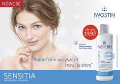 Example of a ClingZ® poster used in doctors' offices in Poland to promote skin care products.
