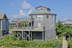 AVON Vacation Rentals | Beach House on the Moon - Oceanfront Outer Banks Rental | 493 - Hatteras Rental