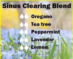 Sinus clearing blend