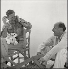 Herbert List: W.H.Auden and Pavel Tchelichev in Ischia's Artist Colony (1950)