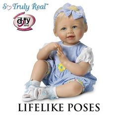'Madison' Baby Girl Doll