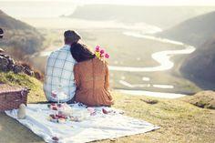 no-worries-stories: Sesja zaręczynowa - piknik na klifach