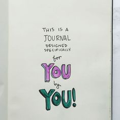 Bullet Journal Your Way #creative #DIY #bulletjournal