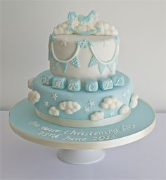 Christening / Baptism - Christening Cake