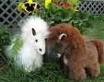 Baby Alpaca Horse! So cute! #alpaca #horse #stuffed #animal #gift