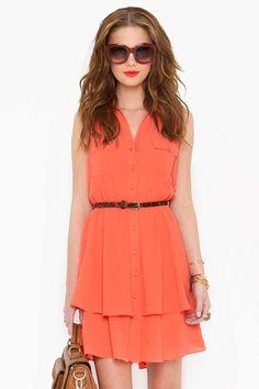 Bright Side Shirtdress
