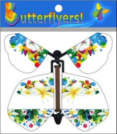 Flower wind up flying Butterflyer Now Available!