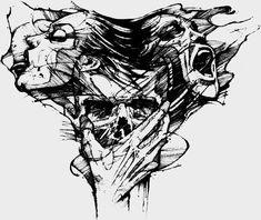Tattoo drawings, tattoo designs men и tattoo designs. Skull Tattoos, Body Art Tattoos, Girl Tattoos, Goth Tattoo, Tattoo Ink, Tattoo Sketches, Drawing Sketches, Tattoo Drawings, Desenhos Halloween