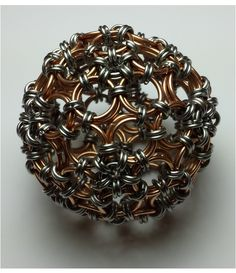 Chainmaille sphere 100% handmade
