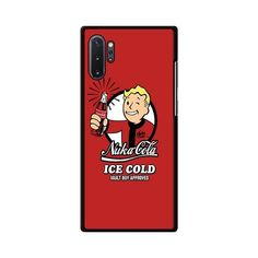 Nuka Cola Ice Cold Vault Boy Approved Fallout Samsung Galaxy Note 10 Plus Case – Miloscase Plastic Material, Galaxy Note 10, Fallout, Samsung Galaxy, Notes, How To Apply, Ice, Phone Cases, Texture