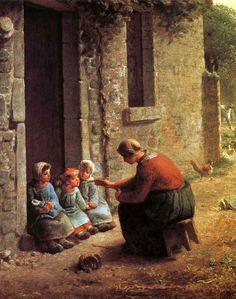 MILLET Jean-François   I AM A CHILD iamachild.wordpress.com485 × 615Buscar por imagen Jean-François Millet (1814 – 1875, French)