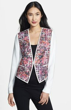 Elie Tahari 'Monique' Jacket available at #Nordstrom